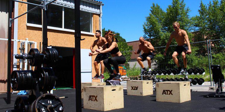Espace entraînement extérieur - Box
