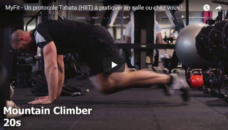 Workout Tabata avec Kevin