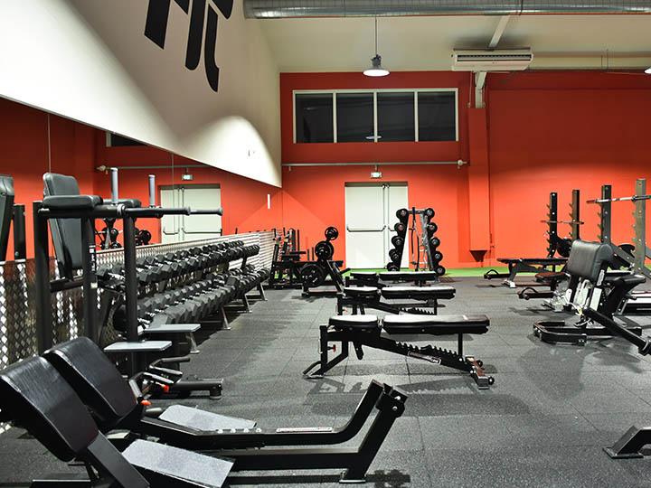 Le club MyFit à Annecy - Espace Musculation