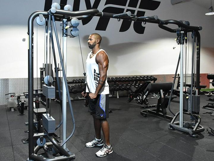 Club de musculation à Annecy équipé de Poulies