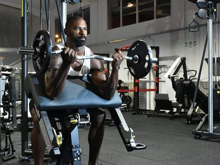 Espace musculation et poids libre
