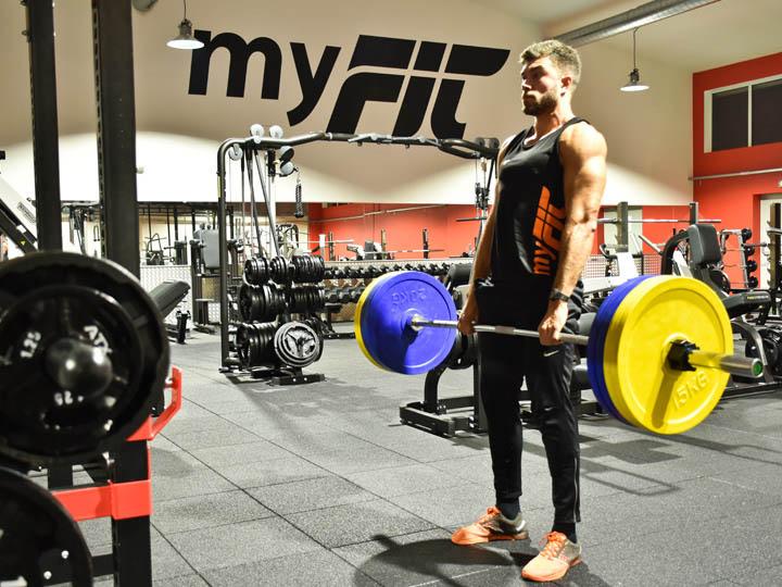 Musculation Force et Haltérophilie avec soulevé de terre