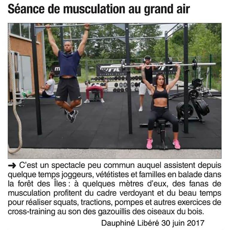 Dauphiné Libéré - 30 Juin 2017