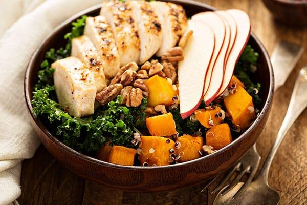 Bol poulet Quinoa